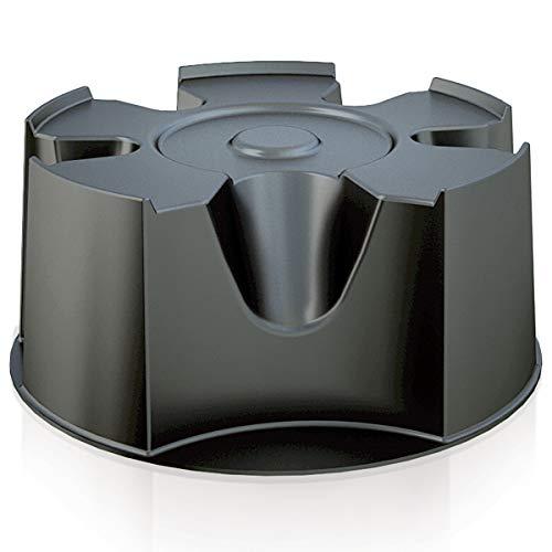 Marko Prosperplast Black Plastic Water Butt Base Stand Round 50cm Diameter 23cm High Waterbutt