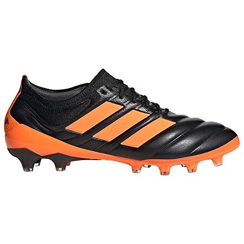 adidas Copa 20.1 AG, Bota de fútbol, Core Black-Signal Orange-Energy Ink, Talla 10.5 UK (45 1/3 EU)