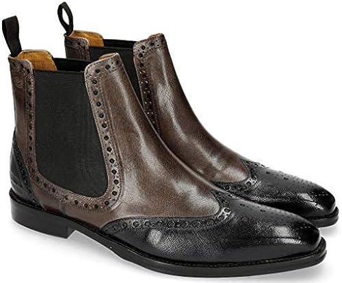 MELVIN & HAMILTON MH HAND MADE schuhe OF CLASS Herren Nicolas 5 Chelsea Stiefel