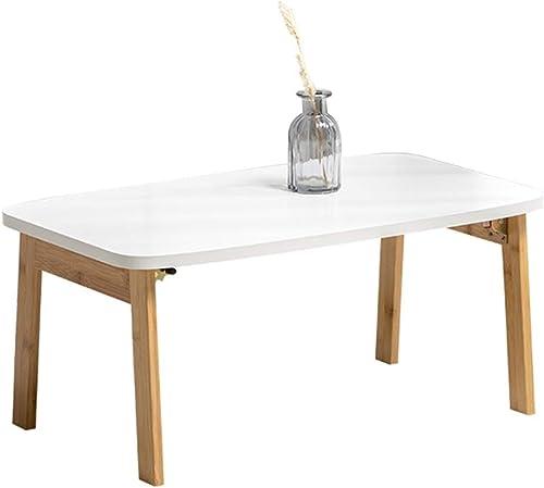 Nachttisch Tatami Couchtisch Bett Computertisch Home Bett Arbeitstisch Klappbarer Balkon Erker Fenster Tisch Bett Laptop Schreibtisch Tisch Laptop Tisch (Farbe   Wood Farbe, Größe   80  48  36CM)