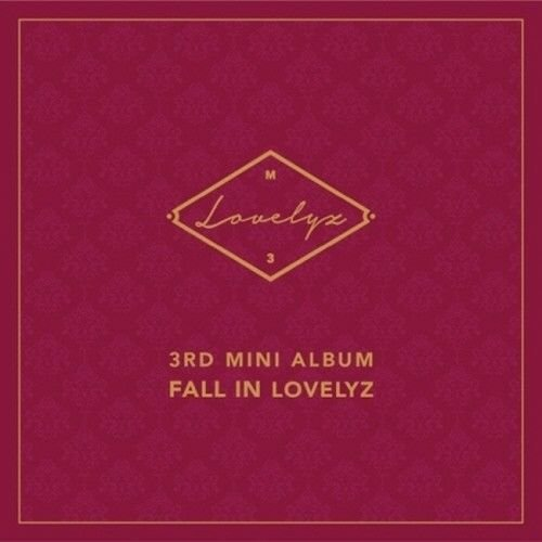Lovelyz - [Fall In Lovelyz] 3rd Mini Album CD+Booklet+PhotoCard+PhotoSticker K-POP Sealed