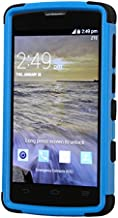 MYBAT ZTEN817HPCTUFFSO255NP Cell Phone Case for ZTE N817 - Retail Packaging - Black/Blue