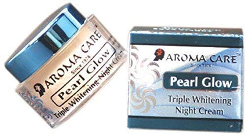 Aroma Care Pearl Glow Triple Deep Action Skin Whitening and Brightening Night Cream - (15g)