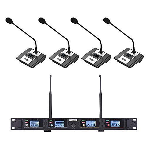 Muslady Micrófono Sistema Conferencia con Receptor de