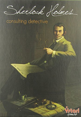 Asmodee Sherlock Holmes Consulting Detective Game