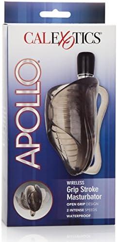 California safety Exotics Novelties Apollo Stroke Max 67% OFF Grip Masturb Wireless