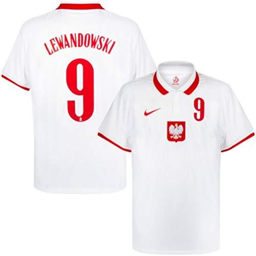 Nike Camiseta Poland Home - Euro 2020 - Lewandowski #9 - Talla L