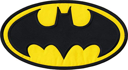 Square Deal Recordings & Supplies - Batman - Large Logo - Embroidered Iron on Patch