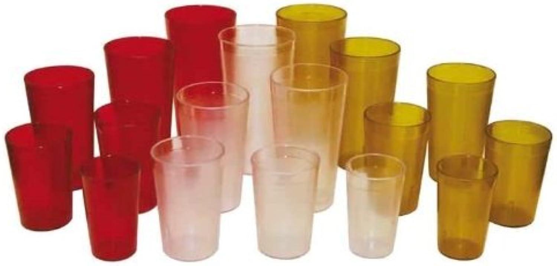 Winco gobelets grainée du cuir, 907,2gram, Rouge, Lot de 12by Winco
