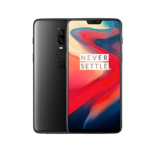 "OnePlus 6 (15,95 cm (6,28 "") 19: 9-Touch-Display, 8GB + 128GB, Oreo Android 8.1 / 5.1 Oxygen OS, Black-Midnight Black)"