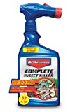 BAYER CROP SCIENCE 700280B Complete Insect Killer for Soil & Turf for Soil and Turf, 32 oz, Ready-to-Spray