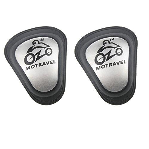 Sharplace 2X Épaulières Insert Pad Moto Gear Riding Équipement de Protection Universal Gris + Noir