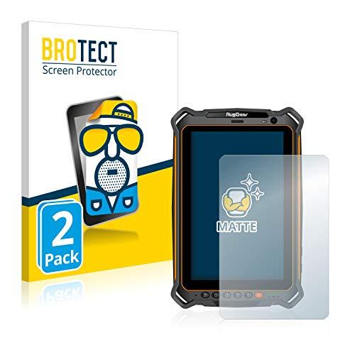 BROTECT 2X Entspiegelungs-Schutzfolie kompatibel mit RugGear RG910 Bildschirmschutz-Folie Matt, Anti-Reflex, Anti-Fingerprint