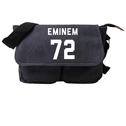 KFMB Eminem patrón Luminoso Mochila Deportiva Bandolera Bolsa de Mensajero Mochila de Viaje de Gran Capacidad al Aire Libre (3)