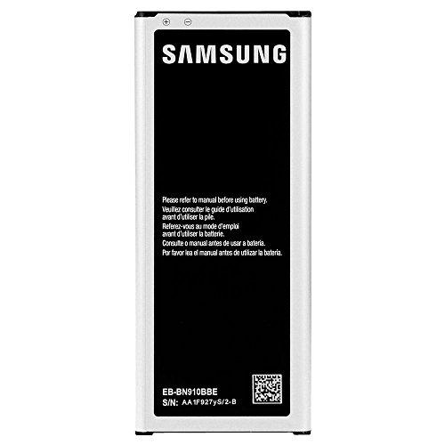 Batteria Originale Samsung Modello EB-BN910BBEGWW - 3220 mAh con Carica Rapida 2.0 Per Samsung Galaxy Note 4 (N9100) - Senza Scatola