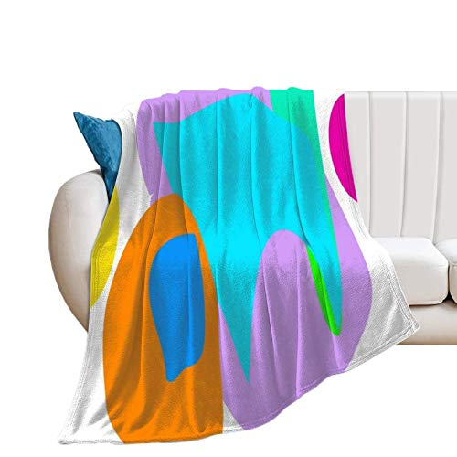 Donghouse Blanket Nebula Flannel Blanket Comfort Velvet Touch Ultra Plush, Novelty Soft Throw Blankets fit Couch Sofa Bedspread Coverlet Bed Cover 40' X 50'