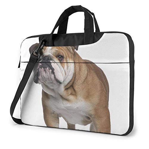 English-Bulldog Laptop Bag Briefcase Shoulder Mesenger Bag