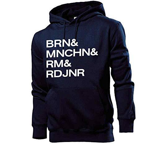 Generisch shirt84.de - Sudadera con capucha para hombre, diseño de Alemania azul marino XL