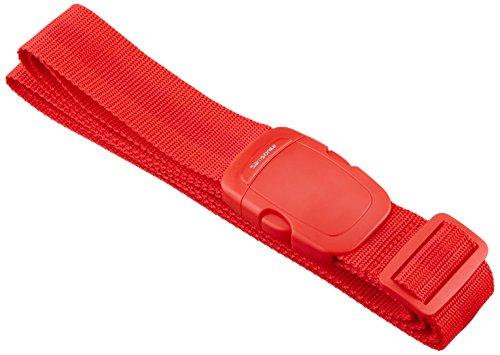 Samsonite Travel Accessories Cinghia per Valigia 2, 3.8 cm Bilancia pesa valigie, Poppy Red, 25 cm