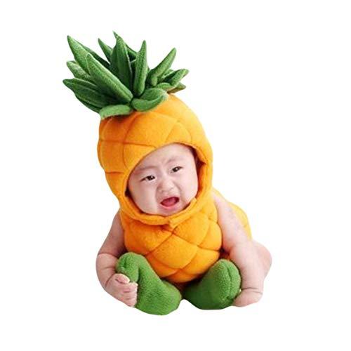 Fenical Baby Ananas Kostüme Baby Foto Prop Outfit für Neugeborene Party Anzug
