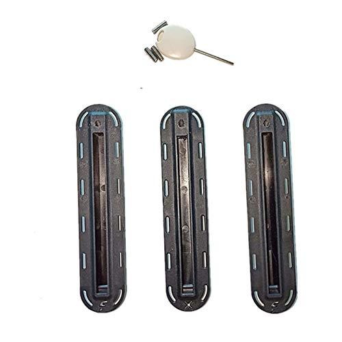 LTH-GD Equipo Externo de Tabla de Surf 18set / Profesional de la porción de Accesorio for Tabla de Surf Tablas de Surf Fin Caja Nylon Plus Material de la Fibra Surf Fin Plug Surf al Aire Libre