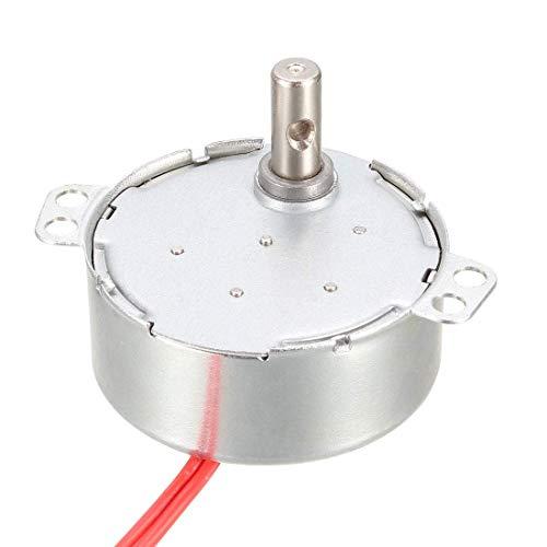 Motor síncrono DyniLao AC 12V 0.9-1.1RPM 50-60Hz CCW/CW 4W Caja de engranajes giratoria para horno microondas