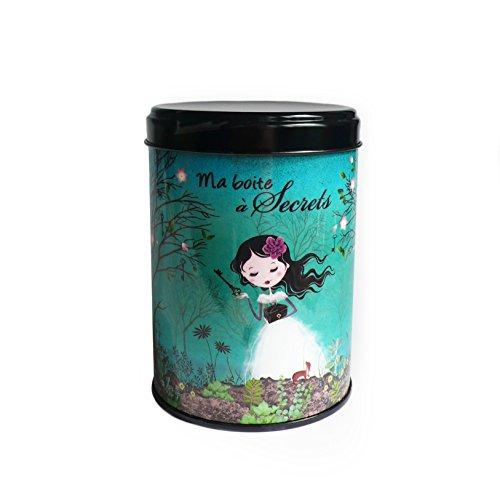 Kalam Boite à thé ou café Ma Boite à Secrets - fabriqué en France - créateur
