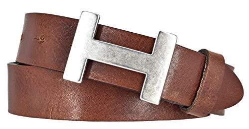 Bernd Götz riem leer volledig runderleer 30 mm inkortbaar jeansriem lederen riem koppelsluiting