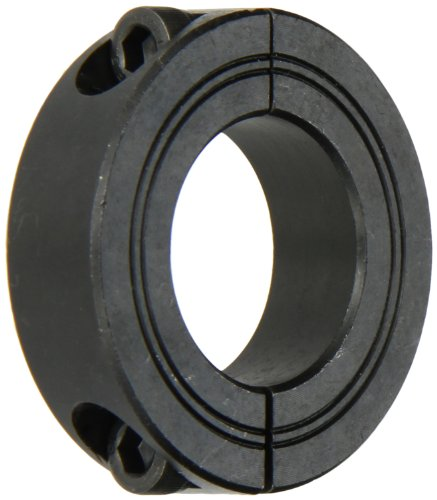 Climax Part M2C-30, Mild Steel, Black Oxide Plating, Metric Clamping Collar, 30 Millimeter bore, 2 1/8 inch OD, 15 Millimeter Width, M 6 x 16 mm Clamp Screw