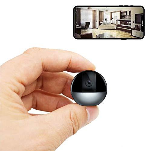 0℃ Outdoor Espia Oculta Videocámara 1080p HD WiFi Cámara Vigilancia Portátil Secreta Compacta con Detección de Movimiento y Grabación en Bucle, Uso de la Oficina de Soporte, Facil de Manejar