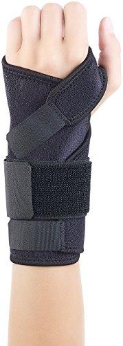 Speeron Handgelenk Bandage: Handgelenk-Stützbandage mit Schiene, Links, schwarz (Handschiene)