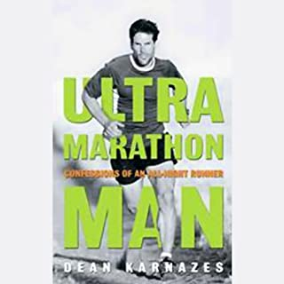 Ultramarathon Man audiobook cover art