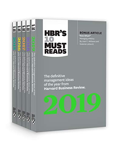 5 Years of Must Reads from HBR: 2019 Edition (HBR's 10 Must Reads)