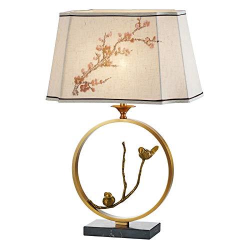 LMDH Moderna Simple de la lámpara de cabecera Creativo Retro té Sala de Estudio Sala de Estar Dormitorio Principal lámpara de Mesa Decoración