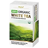 Imozai Organic White Tea Bags 100 Count Individually Wrapped