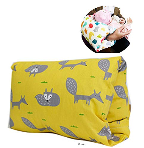 Buy Discount Baby Feeding Pillow,Removable and Washable Travel Nursing Pillow Portable Arm Breastfee...