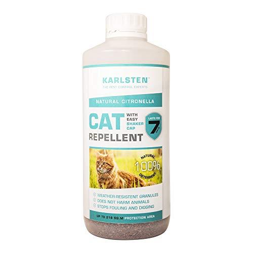 Karlsten Cat Repellent Anti Fouling Granules , Natural Humane Cat Deterrent Citronella
