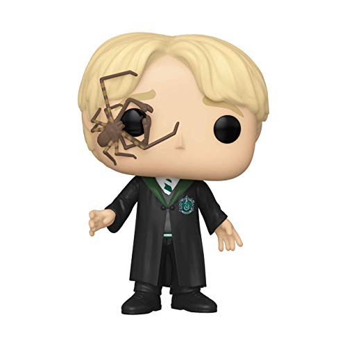 Funko- Pop Harry Potter-Malfoy w/Whip Spider Figura Coleccionable, Multicolor, Estándar (48069)