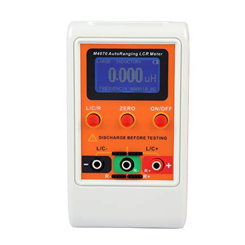 Support in Circuit Testing ljym88 MESR-100 V2 Auto Ranging in Circuit ESR Meter Capacitor//Low Ohm Meter Up to 0.01 to 100R 14.5 x 7.3 x 2.8cm