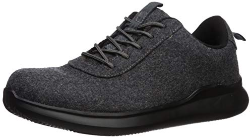 Propét Men's Vance Oxford, Grey, Numeric_11_Point_5 Wide