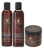 As I Am Naturally 3pcs Combo Deal (Curl Clarity Champú, Aco