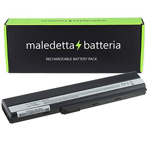 Batteria HQ 5200mAh 10,8V per portatile Asus A42, A5, A52, A52F, A62, X42E, X42F, X42J, X42JB, X42JE, X42JK, X42JR, X42JV, X52, X52D, X52DE, X52DR, X52J, X52JB, X52JC, X52JE, X52JG, X52JK, X52JR, X52N, X5I, K52F-SX065V, k52f-sx065x, k52f-sx074v, K52F-SX206V, K52F-SX416V, K52J, K52JB, K52JC, K52JC-B1, K52JC-EX, K52JC-EX073V, K52JC-EX089V, K52JC-EX144V, 70NXM1B2200Z, 70-NXM1B2200Z, 90NYX1B1000Y, 90-NYX1B1000Y, A31B53, A31-B53, A31K42, A31-K42, A31K52, A31-K52, A32K42, A32-K42, A32K52, A32-K52