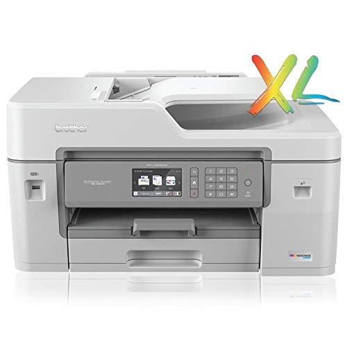 Brother MFC-J6545DWXL INKvestmentTank Color Inkjet All-in-One Duplex Printer - Wireless and Ethernet Connectivity, includes upto 2-Year of Ink-in-Box