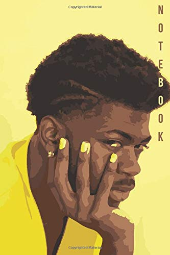 Notebook: Lil Nas X Watercolor Drawing Notebook Gift Journal