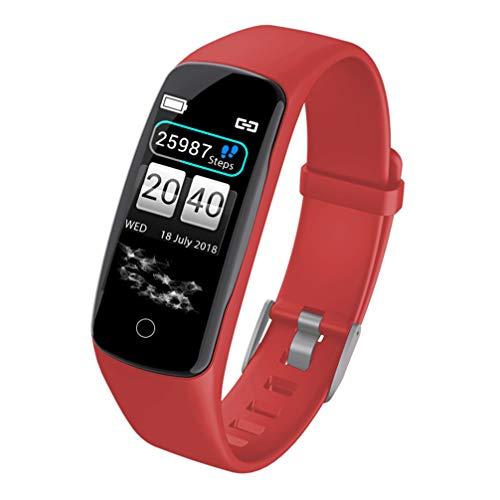 Best Deals! Hemobllo V8 Smartwatch Fitness Tracker Activity Tracker Color Screen Fitness Watch with ...