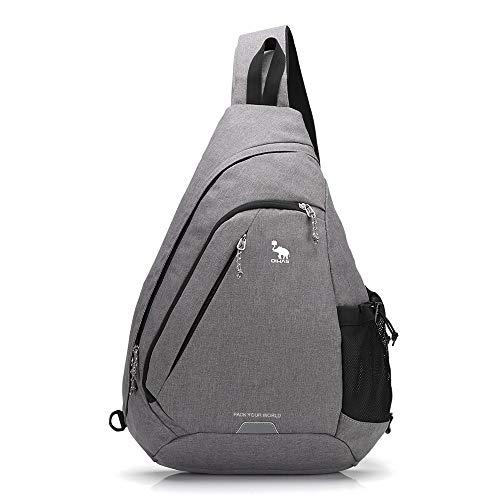 OIWAS One Strap Backpack for Men Single Strap Backpack Sling Bag Crossbody Shoulder Daypack for Boys Women