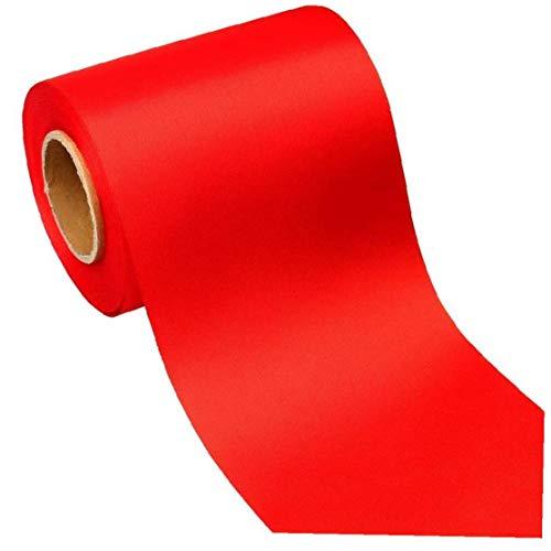 Hotaden Cinta de poliéster 25MM 10M Craft Cintas Rojas Impreso para la Fiesta de cumpleaños de la Boda de Bricolaje decoración para el hogar