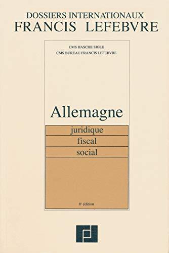 Allemagne: Juridique, fiscal, social