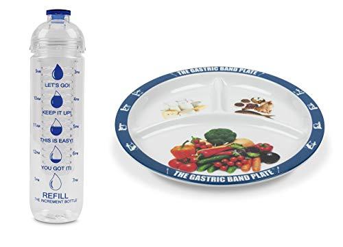 The Gastric Band Plate BLOPBAS Juego de pérdida de peso, melamina