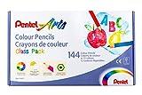Pentel CB8-12UCP - Estuche de 144 lápices de 12 colores